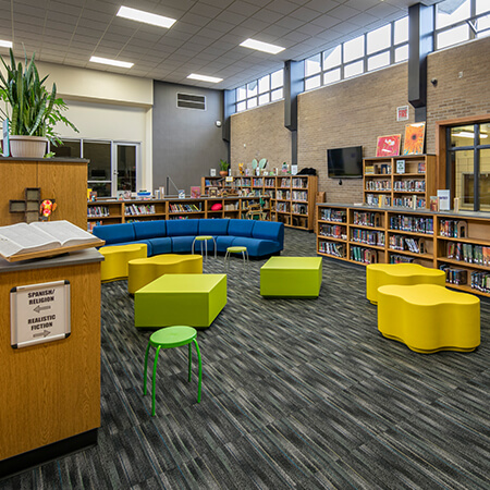 library at GRCMS cover