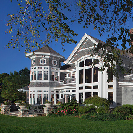 New England Style home exterior