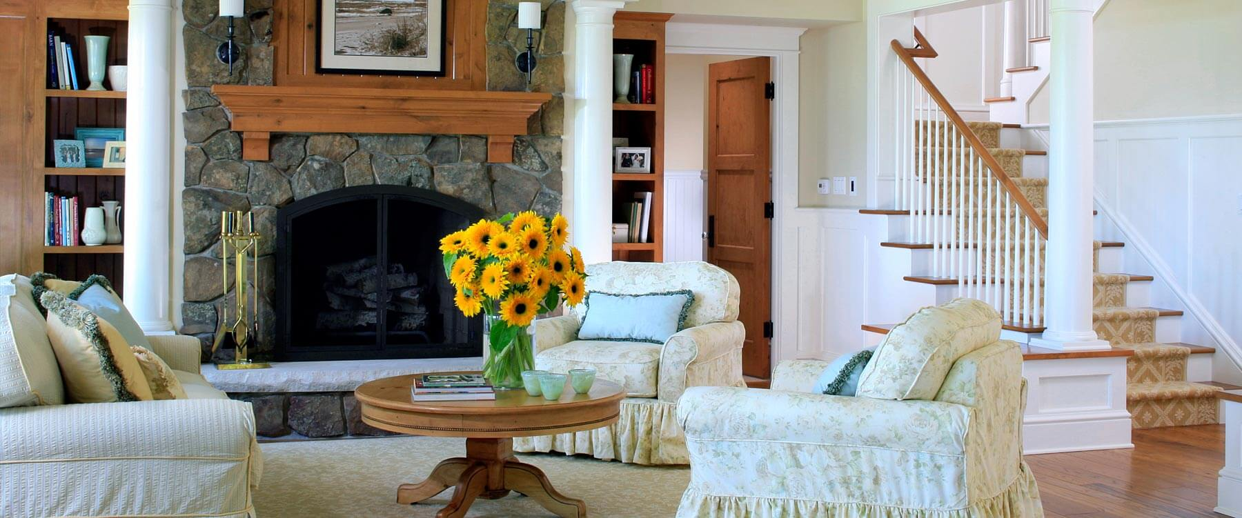 Shingle Cottage - Interior - Living Area