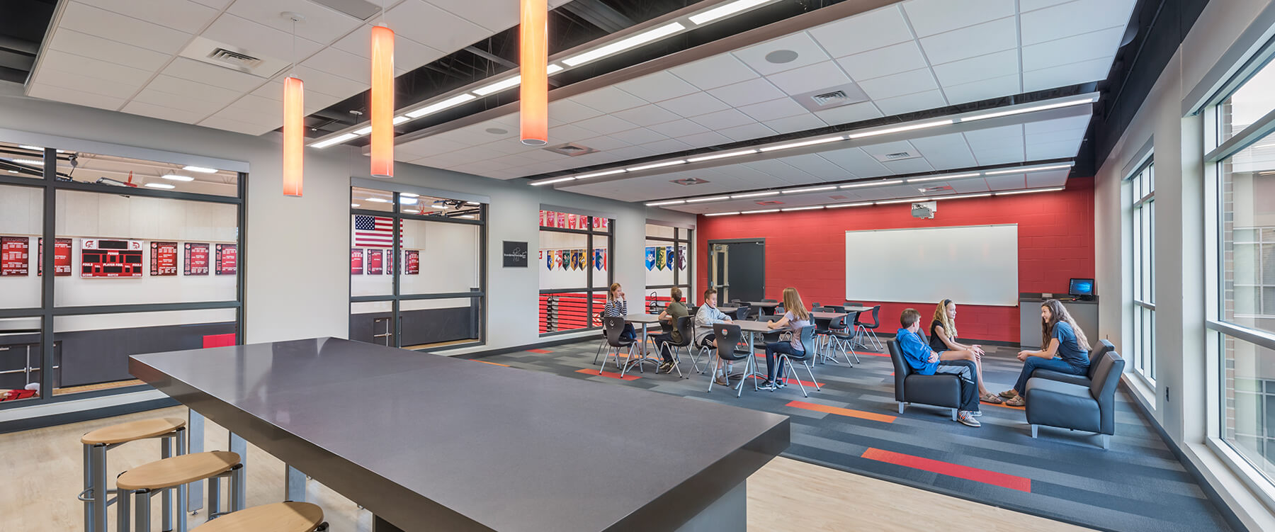 Timothy Christian Middle School gathering room