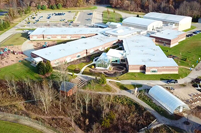 Ada Christian School Aerial