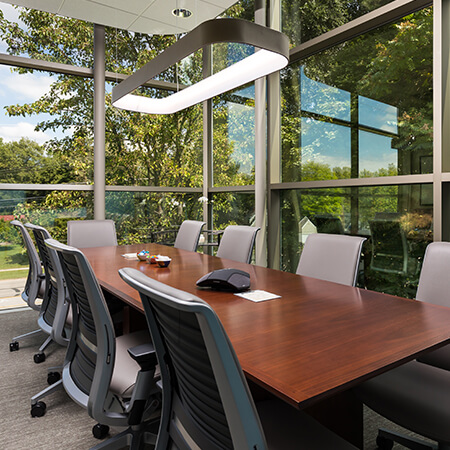 Office suite boardroom