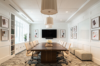 Bengtson Center for Aesthetics & Plastic Surgery board room