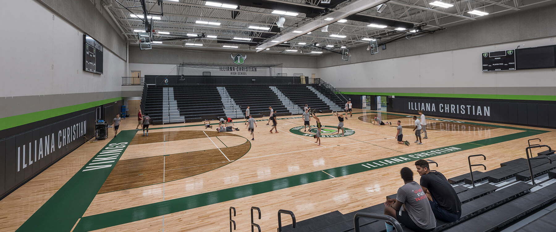 Illiana Christian High School gym
