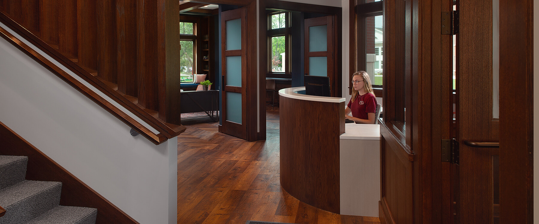 Hope College Ministries Center entry