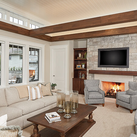 Casual Family Home living room