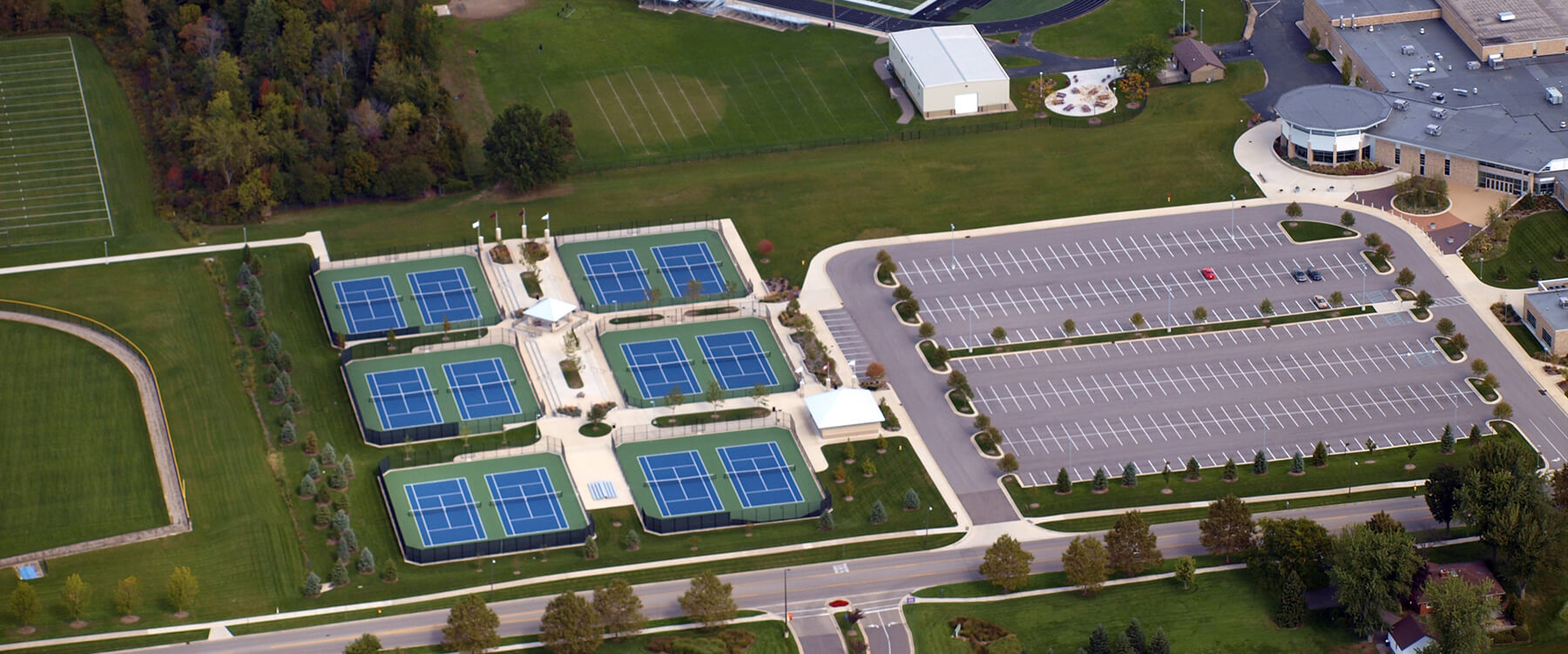Holland Christian Schools Tennis Complex